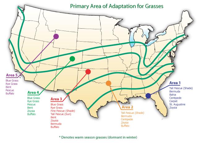 United States Region Map